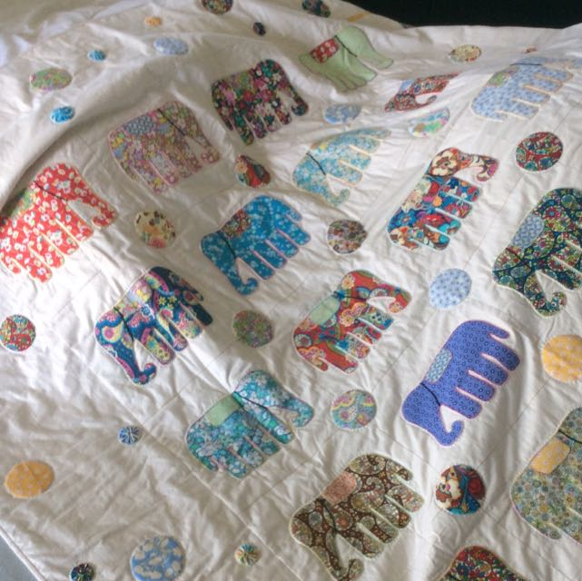 Large Hand Sewn Quilt