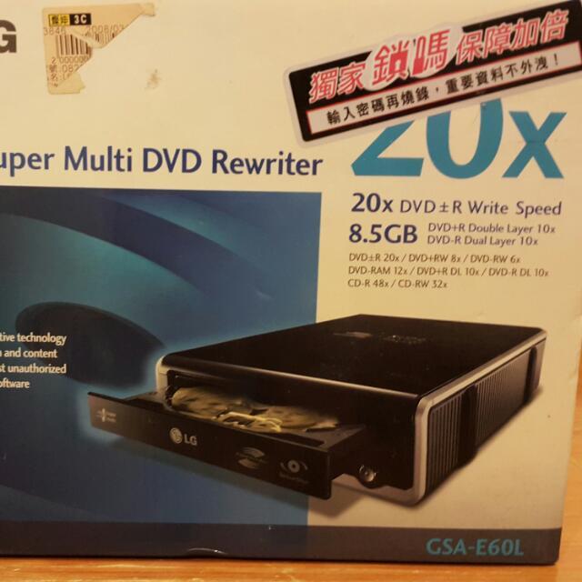 LG DVD 外接式光碟機