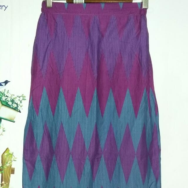 Long Skirt Etnic