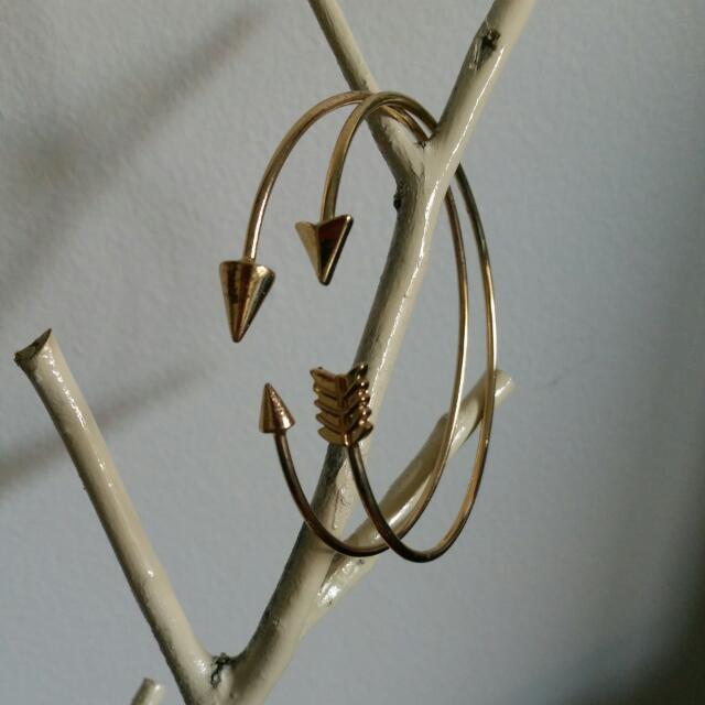Louisa Gold Arrowhead Bracelets