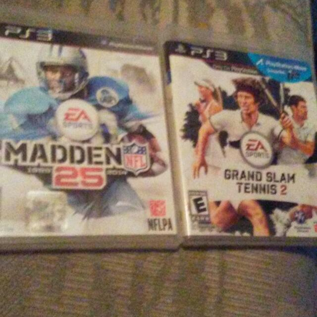 Madden 25 And Grand Slam 2