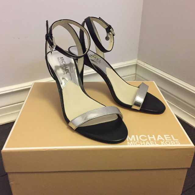 Michael Kors Bridget Ankle Strap Sandals (6 US)