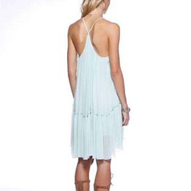 Ministry Of Style Take Off Drape Dress | Mint | XS