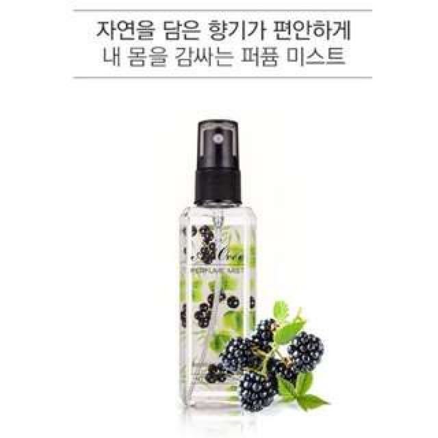 MISSHA淡香水 Blackberry&Vetiver(黑莓)120ml