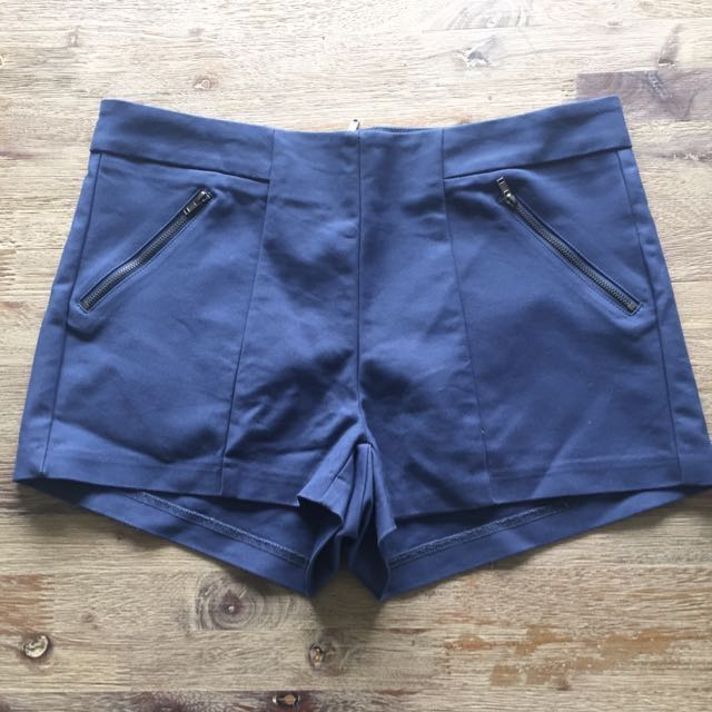 Navy Shorts- Valleygirl