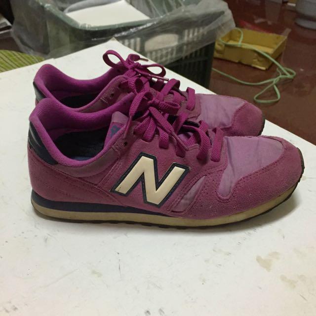 New Balance 紐巴倫373系列葡萄紫色.運動鞋休閒鞋跑步鞋健走鞋23號/36.5號/6號.非Skechers.Nike.愛迪達