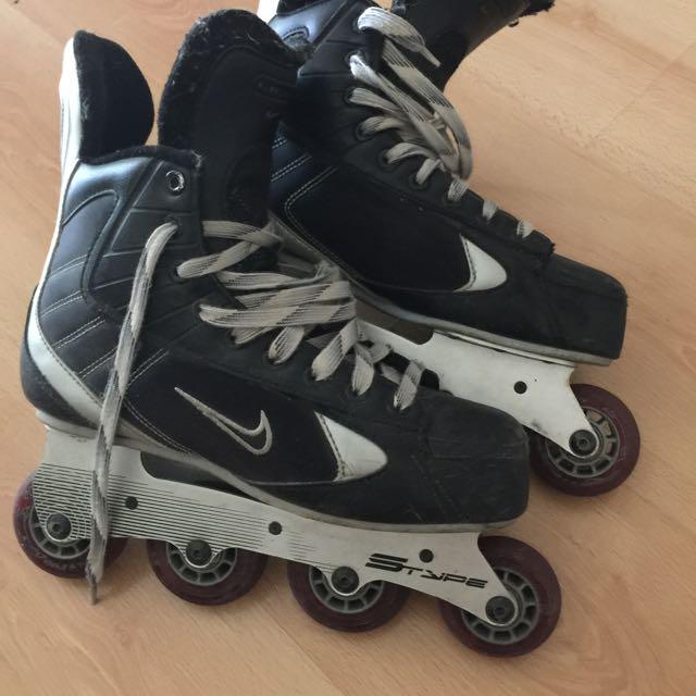 Nike Hockey Rollerblades Size 8 Men's