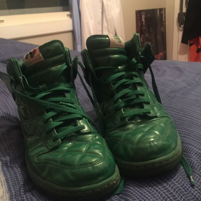 Nike Zooms Green Size 10 Limited Addition