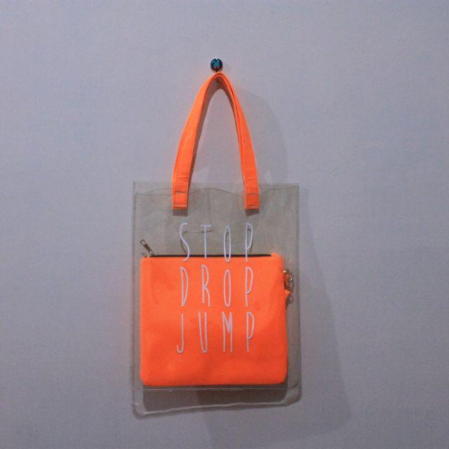 Orange Jelly Tote Bag 50k Only! (MASIH BISA NEGO)