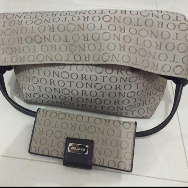 Oroton bag n wallet