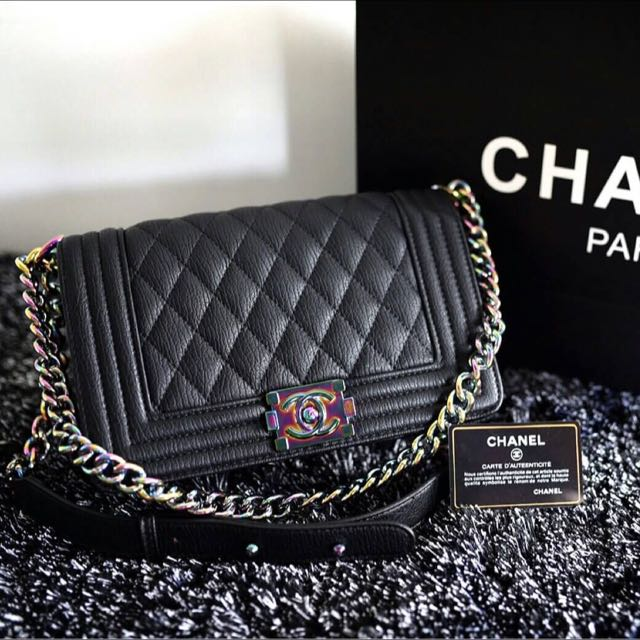 077bb8f3e3da Preorder: Chanel Boy Rainbow Hardware Cruise Collection, Bulletin ...