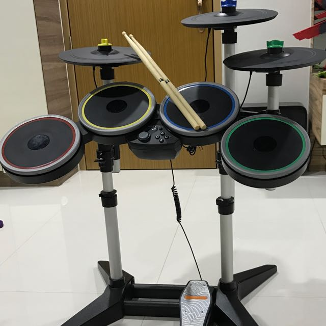 PS4 Rock Band 4 With Cymbal Expansion Kit, Toys & Games