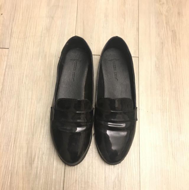 Queen Shop黑色樂福鞋