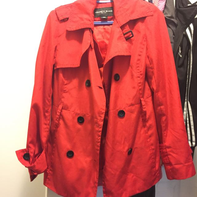 Red Coat Size Small