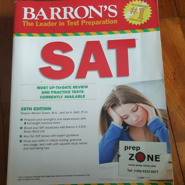 Sat books books stationery textbooks on carousell fandeluxe Choice Image