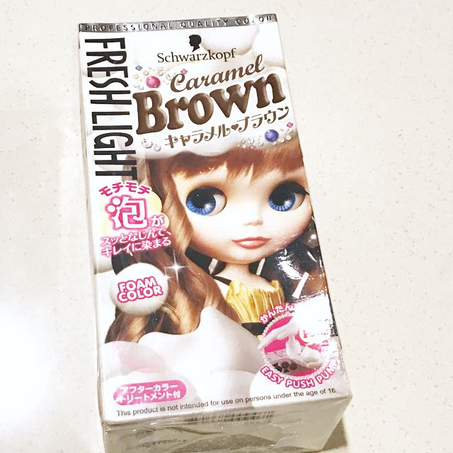 Schwarzkopf Caramel Brown