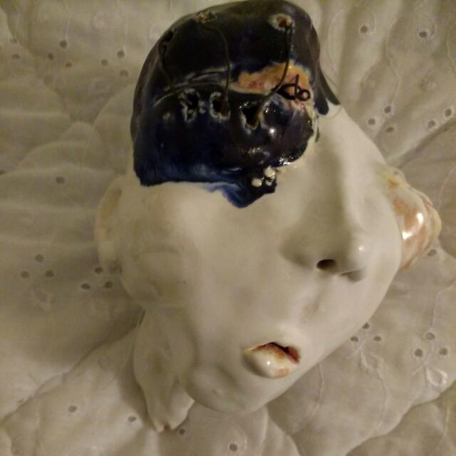 Sculpture: Deformed Head