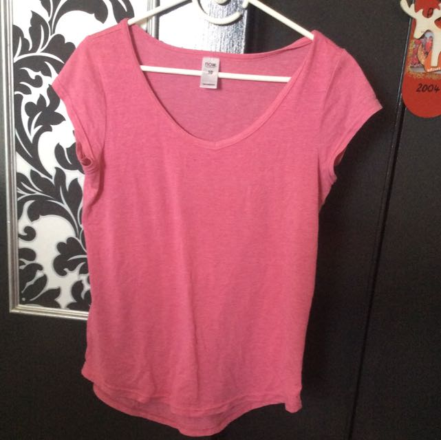 Size 10 Pink 'Now' Shirt