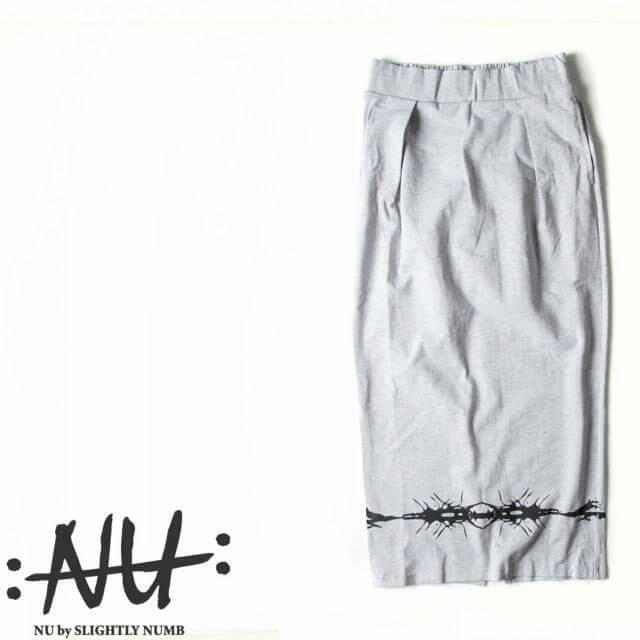 〖雙11購物節〗slightly numb鉛筆裙-灰M