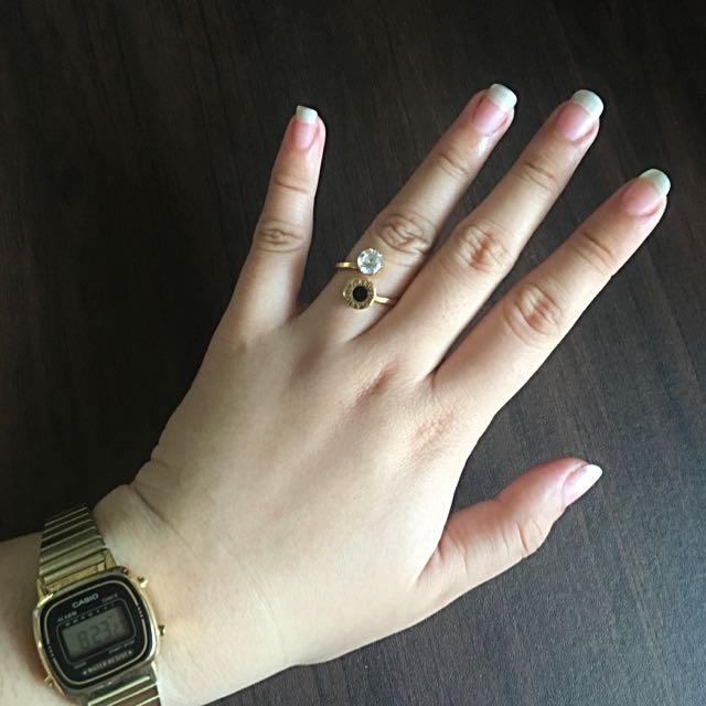 Stainless Bvlgari Ring