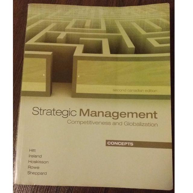 Strategic Management - Second Canadian Edition