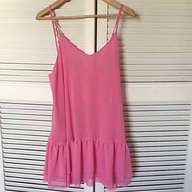 Swing Dress in Pink