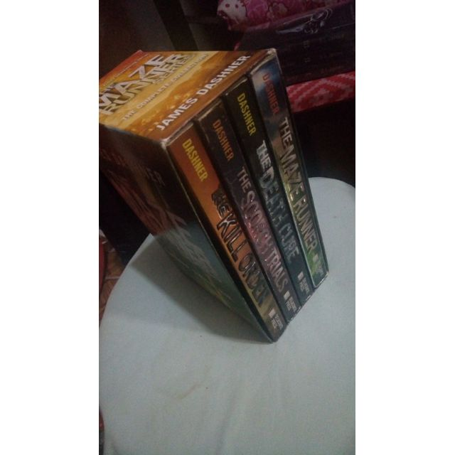 The Maze Runner box set by James Dashner