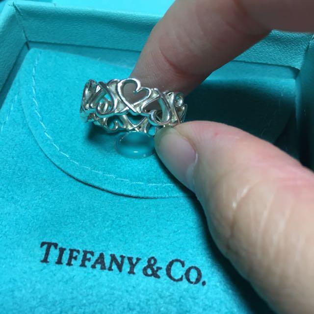 Tiffany&co 心型花戒