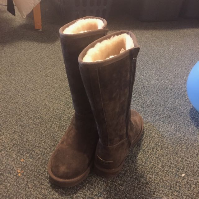 Ugg Boots- Size 6 Tall With Zip