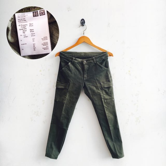 UNIQLO Skinny Cargo Pants