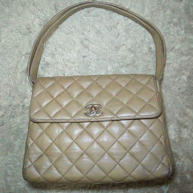 Vintage Chanel Quilted Handbag