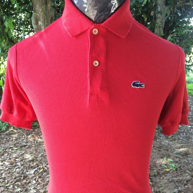 71ff249cefd Vintage Izod LACOSTE Polo Shirt, Men's Fashion, Clothes on Carousell