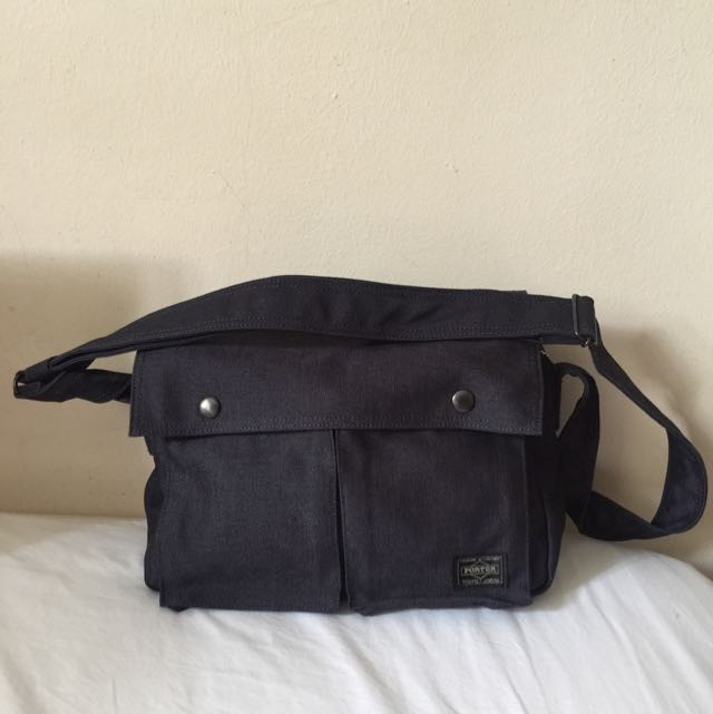 Yoshida Porter Indigo Sling Bag, Men s Fashion, Bags   Wallets on Carousell bb95ae10d1