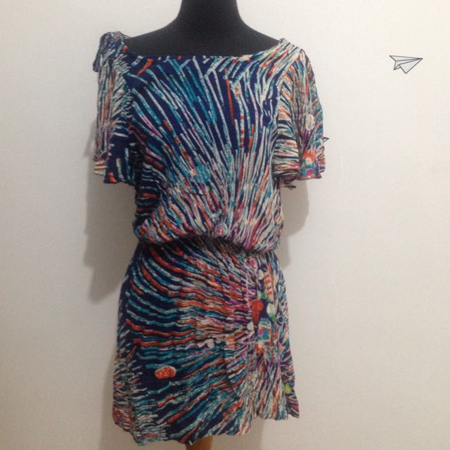 Zara Abstract Dress
