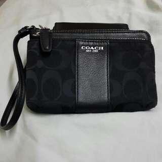 COACH雙層手提包