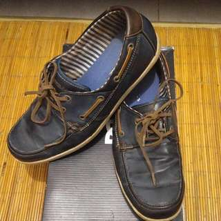 Sepatu Airwalk Loafer Warna Navy Blue Ukuran 43