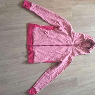 Heathered Pink Lululemon Zip Up