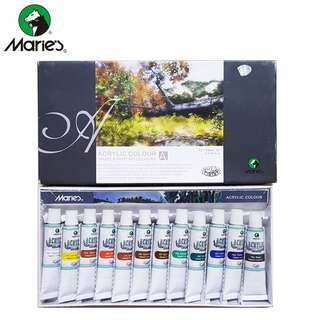 Maries Acrylic Color Set 12 - 812B #Cat Acrylic