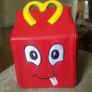 Awesome & Unique Moschino McDonalds Happy Meal PU Leather HandBag * New With Dust Bag*