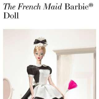 徴 Silkstone French Maid Barbie