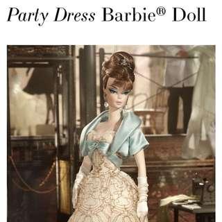 徴 Silkstone Barbie 2012 Party Dress