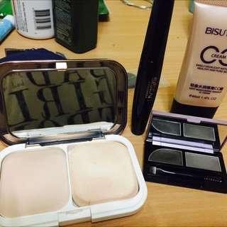 all for $10 bbcream eyelashes eyeshadow powdery cake