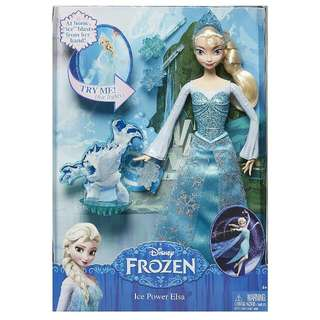 BNIB Ice Power Elsa Doll
