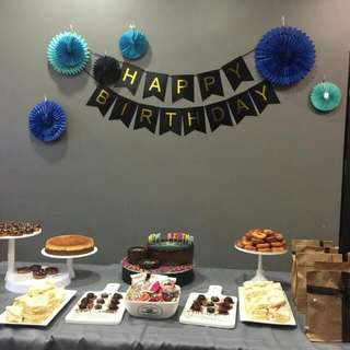 Cake Display / Cake stand for birthday parties / events / candy corner /dessert table for Rental