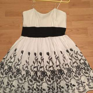 Black And White Dress