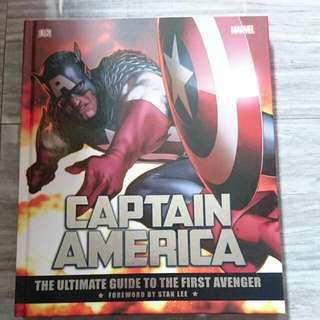 Brand New Marvel Captain America The Ultimate Guide To The First Avenger DK