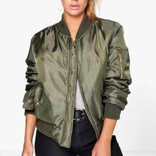 Green Bomber Jacket