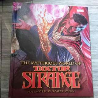 Brand New Dk  Marvel Book The Mysterious World Of Doctor Strange