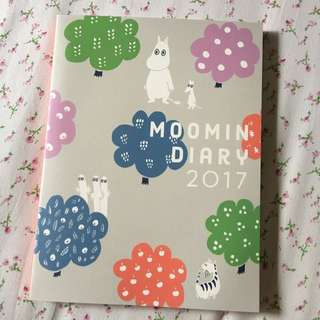 {Reserved} Moomin 2017 Diary