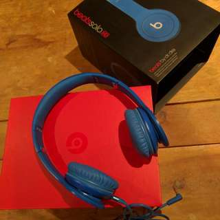 Beats by Dr.Dre SoloHD - Drenched in Matte Blue